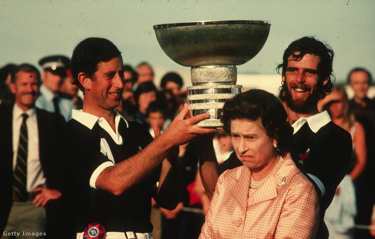 1984: Károlyék éppen megnyertek egy lovaspóló-kupát, de szerinte alakulhattak volna jobban is a dolgok.
