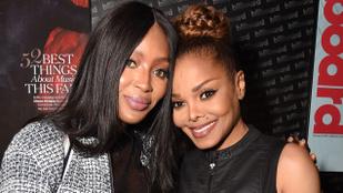 Ritka együttállás: Janet Jackson Naomi Campbellel fotózkodott