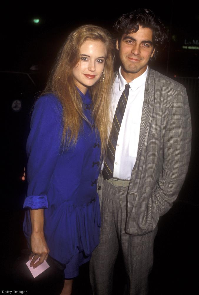 Kelly Preston és George ClooneyA Vészhelyzetet és a Jerry Maguire-t megelőző időszakban szeretett egymásba Preston és Clooney, akik 1987-ben jöttek össze