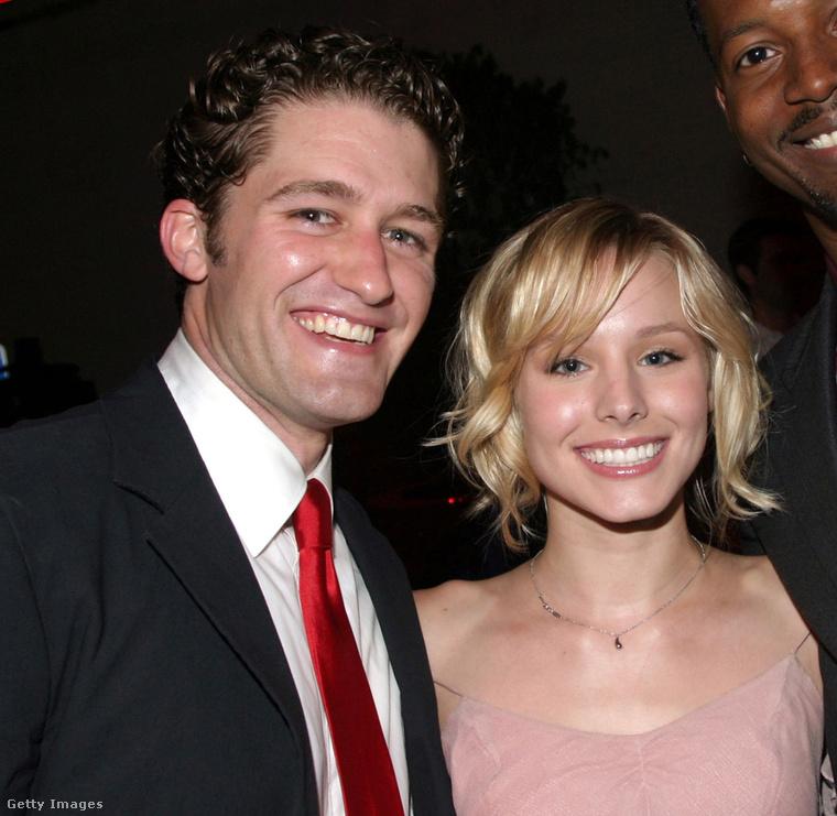 Matthew Morrison és Kristen BellA ma már Veronica Marsként ismert Bell és a Glee-vel híressé vált Morrison az egyetemen találkoztak és kavarodtak össze egy rövid időre.