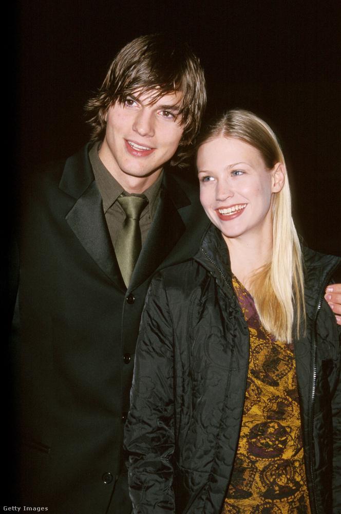 Ashton Kutcher és January JonesMikor még Kutcher és Jones sem tudták, hogy egyszer elég híres színészek lesznek, mindketten modellként dolgoztak
