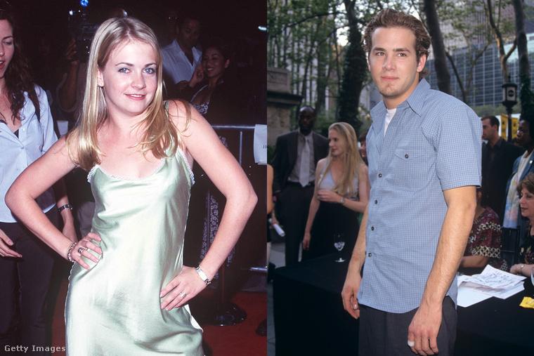 Ryan Reynolds és Melissa Joan HartEz kapcsolat valóban nem volt hosszú életű, sőt igazából csak egy éjszakán keresztül tartott