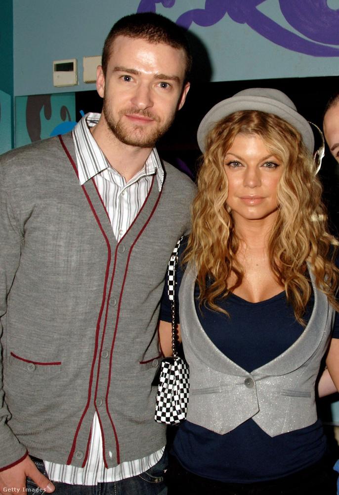 Justin Timberlake és FergieBár Justin Timberlake már az NSync ramen hajú tagjaként némileg ismert volt, Fergie-ről szinte senki nem hallott még 1996-ban, mikor jártak
