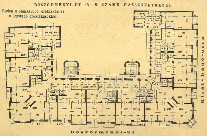 Lakóház hirdetése a Böszörményi úton