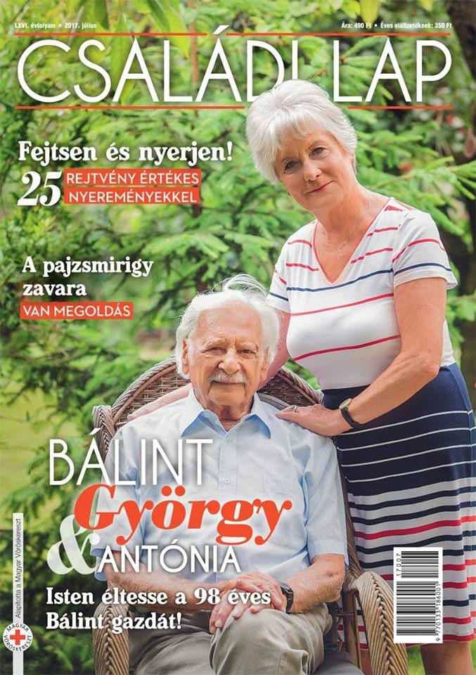 A 98 éves Bálint gazda húsz éve él boldog házasságban 27 évvel fiatalabb feleségével, Récsey Antóniával.