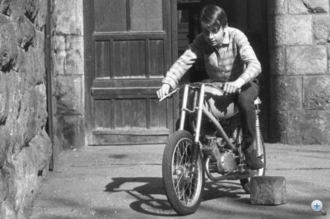 Az első café racer
