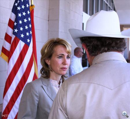 Gabrielle Giffords amerikai demokrata párti képviselőnő