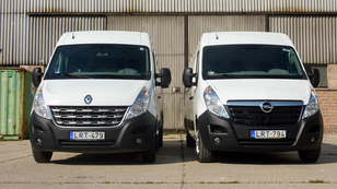 Renault Master 2.3 dCi 145 LE L4H2P4 RWD – Opel Movano 2.3 dCi 125LE L3H2 FWD