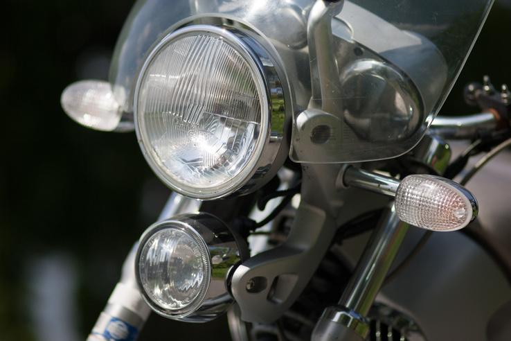 A Montauk ismertetőjegye az két, függőlegesen eltolt fényszóró