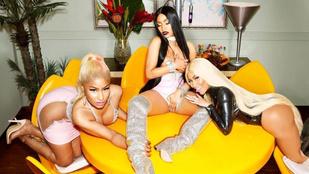 Még több kép Nicki Minaj gruppenszexes fotósorozatából