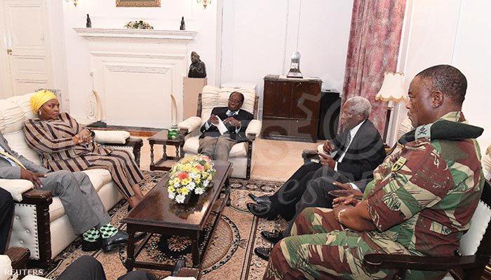 Mugabe Chiwenga tábornokkal tárgyalt