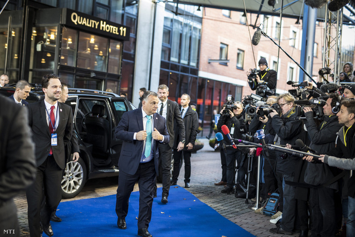 Orbán Viktor Göteborgban
