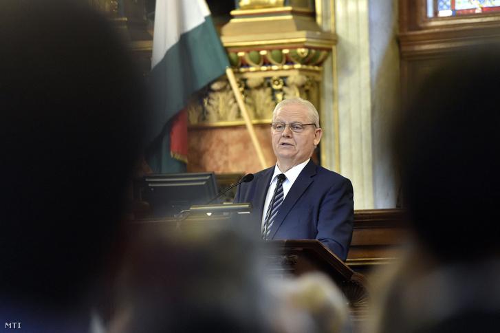 arlós István főpolgármester a főváros napja alkalmából tartott ünnepségen