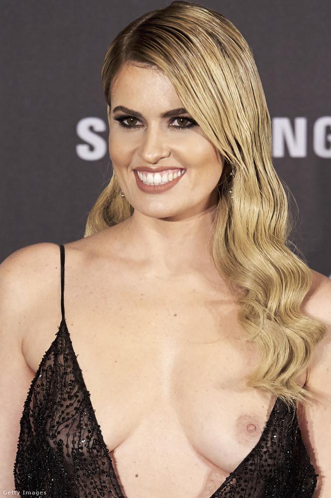 Ő Adriana Abenia, spanyol tévéműsorvezető, modell és színésznő