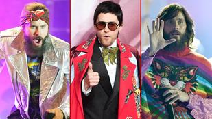 Összeszedtük Jared Leto leghülyébb öltözékeit az elmúlt egy évből