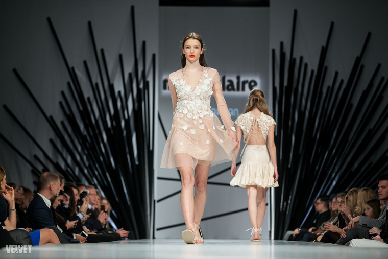 Sármán Nóra tervezőnőtől vannak ezek a könnyed, légies, nyárias öltözékek.
