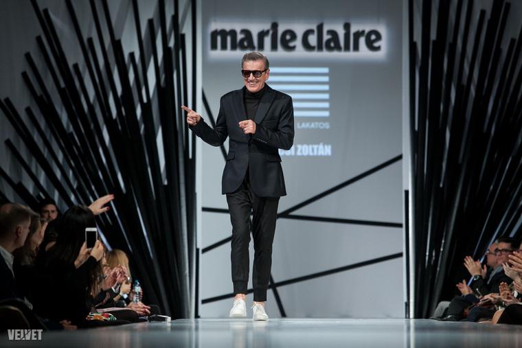 Magyarországon nagy hagyománya van annak, hogy énekesnők és színésznők divatbemutatókon tűnnek fel, de a múlt héten a Marie Claire Fashion Days eseményén egy olyan férfiszínész is végigment a kifutón, aki nagyon nem kifinomult és elegáns szerepeiről emlékezetes