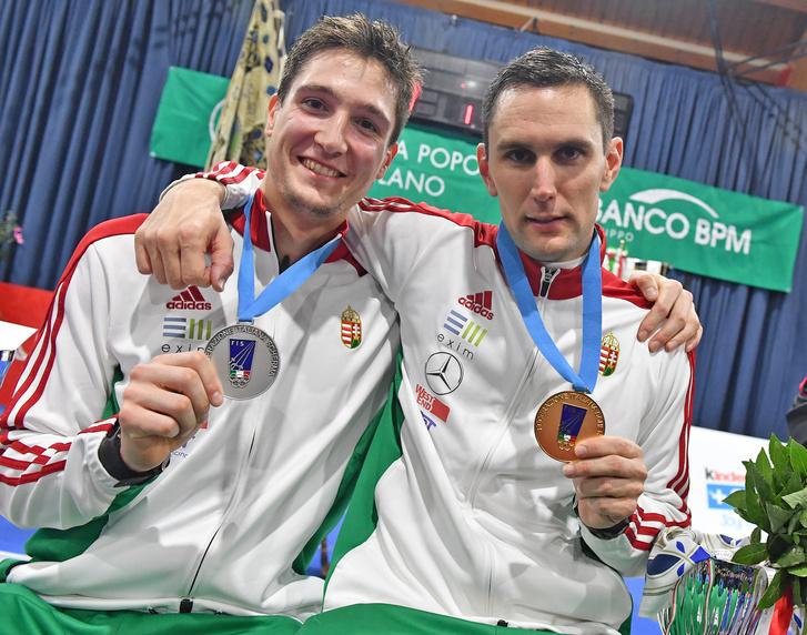 Berta Dániel és Rédli András Legnanóban