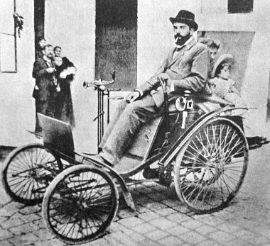 1895, Hatschek Béla és a Benz Velo