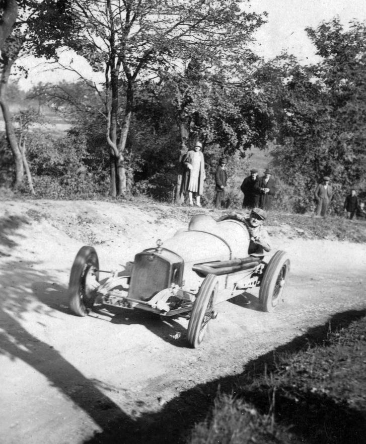 1928, Delmár Walter, Sváb-hegy, Steyr versenyautó
