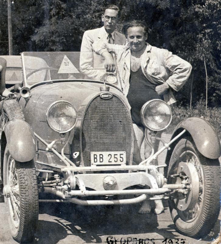 1937, Orosháza, Bugatti