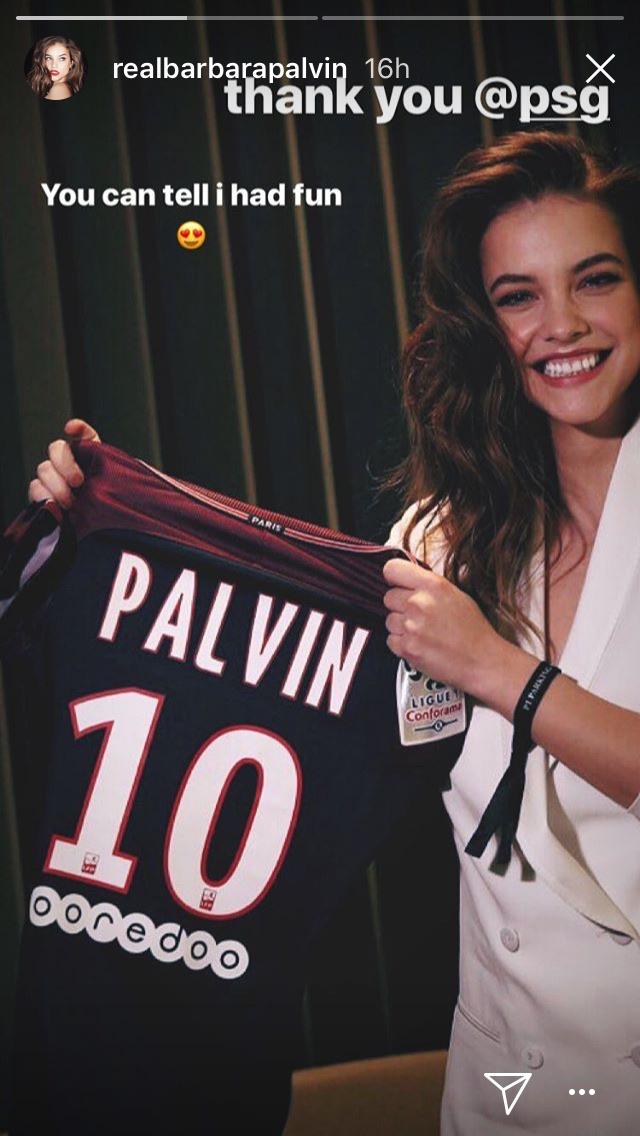 Palvin a PSG, azaz a Paris Saint-Germain foci csapat meccsén volt