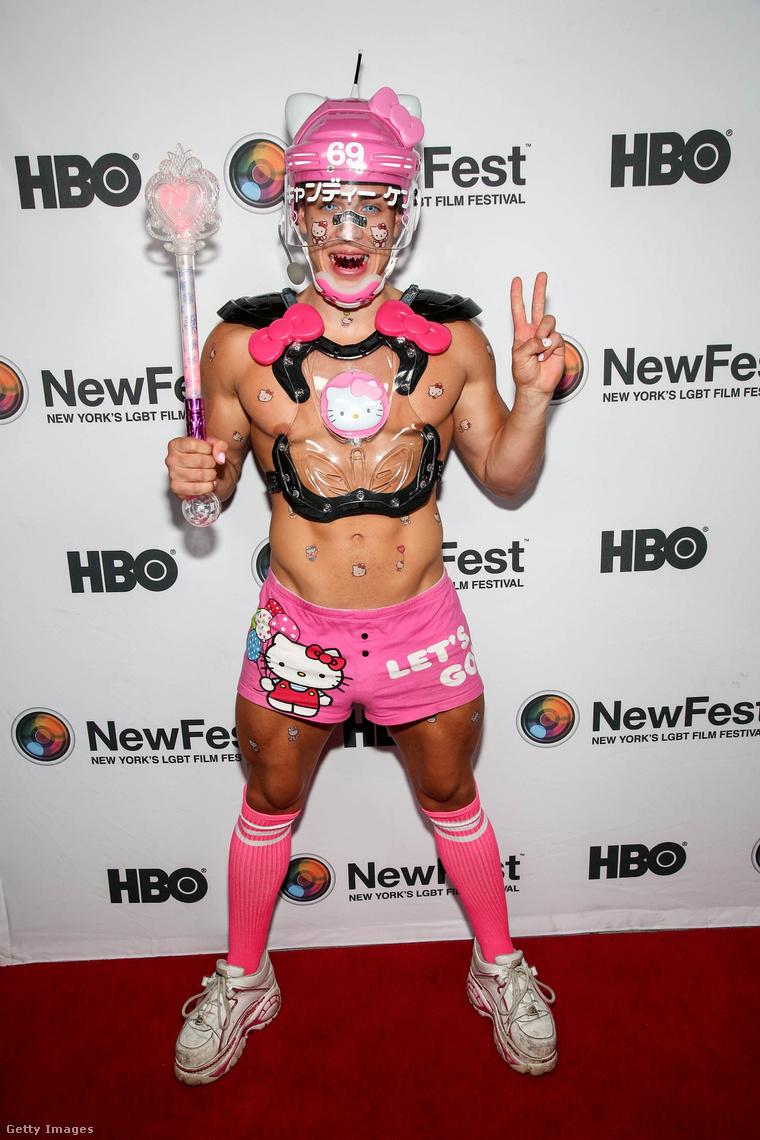 Candy Ken New York LMBT-filmfesztiválján 2017. októberében.