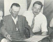 Szisz Ferenc az 56-os BNV-n