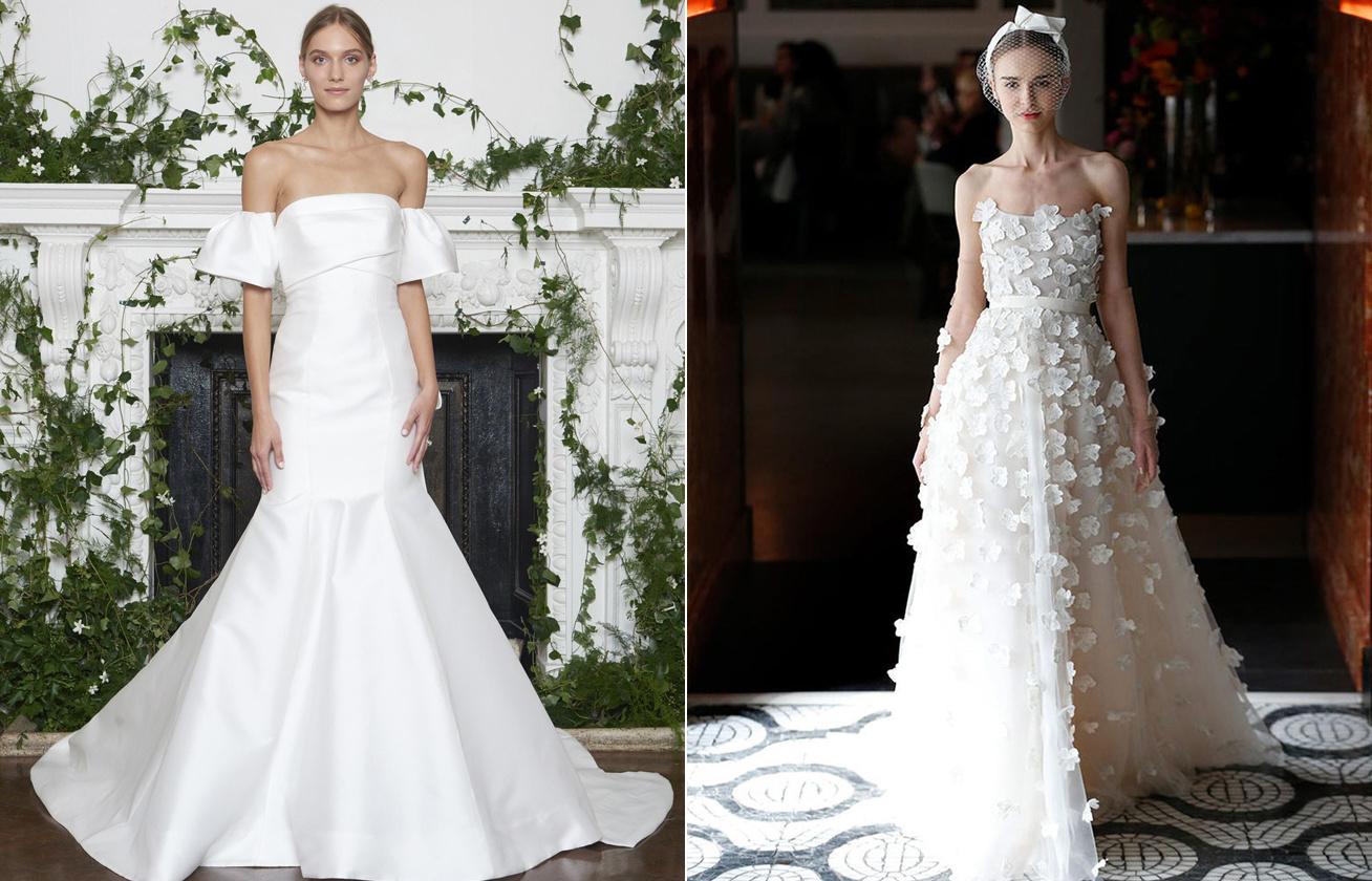 e13aad3fbb Mutatjuk a jövő év legdivatosabb esküvői ruháit - Csábos, nőies ...