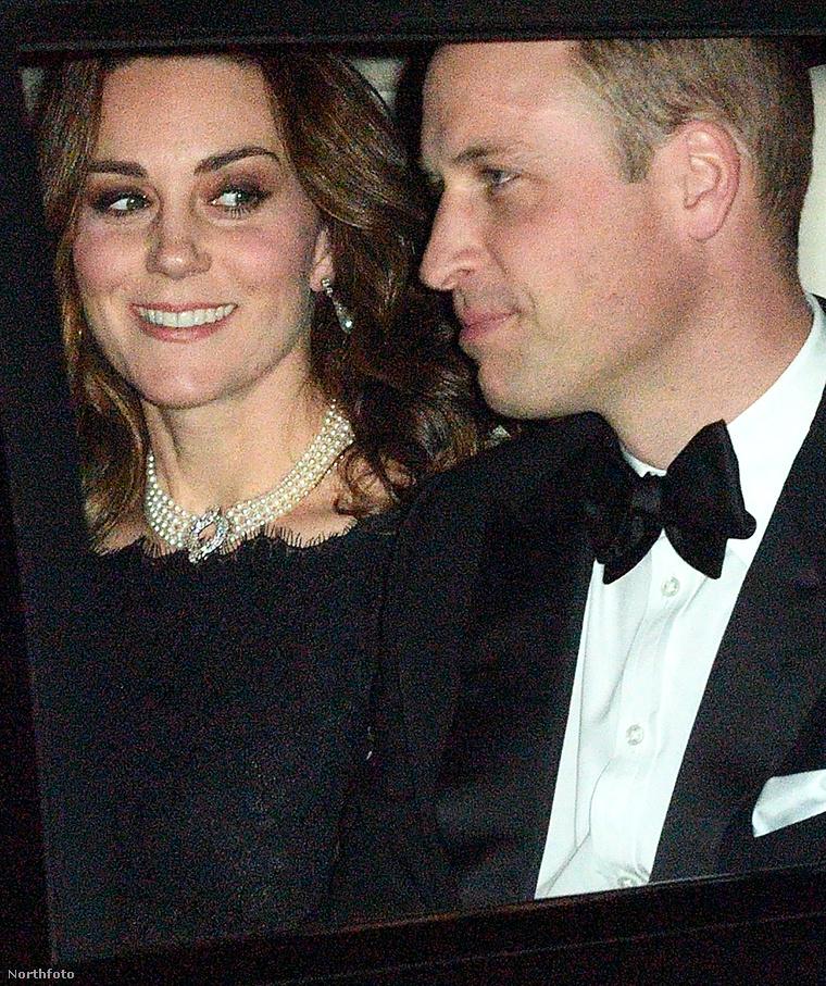 Katalin hercegné, Vilmos herceg.