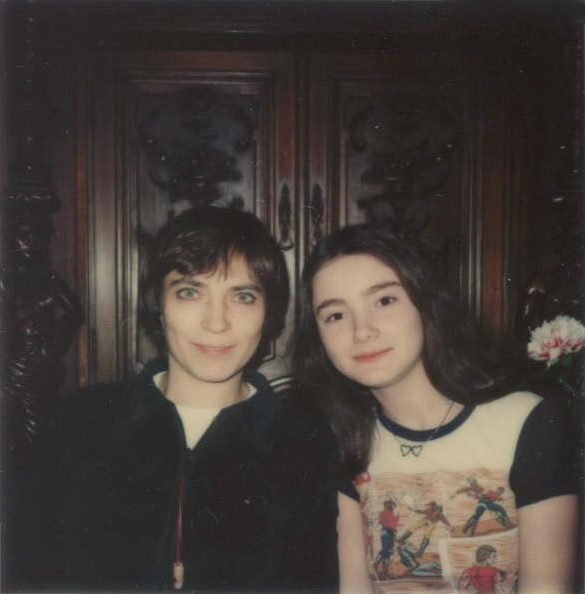 Kovács Kati és Szenes Andrea a nyolcvanas években.