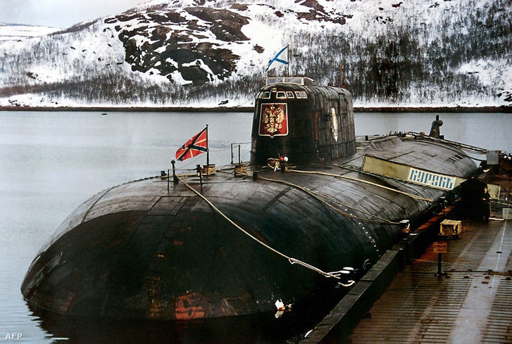 A Kurszk tengeralattjáró