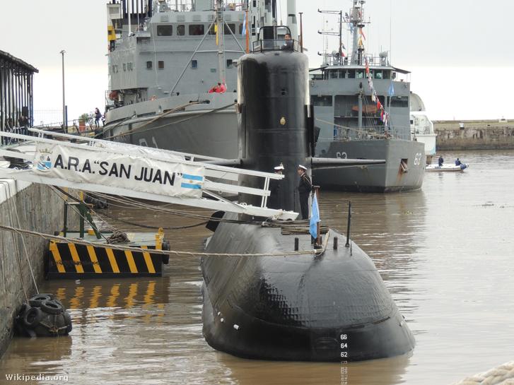 Az ARA San Juan tengeralattjáró