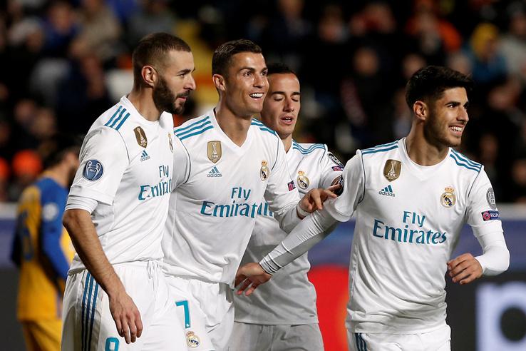 Ronaldo szerezte a Real 5. és 6. gólját