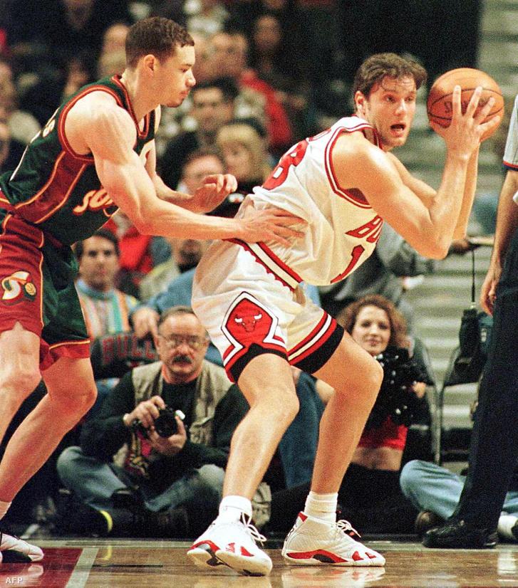 1999-ben, a Chicago Bulls játékosaként