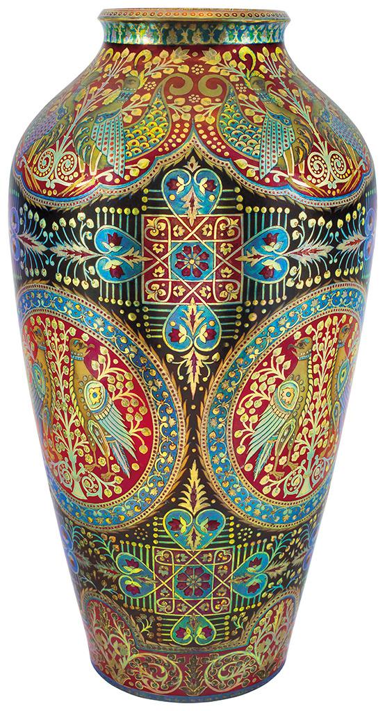 Váza, millenniumi díszítménnyel, 1911