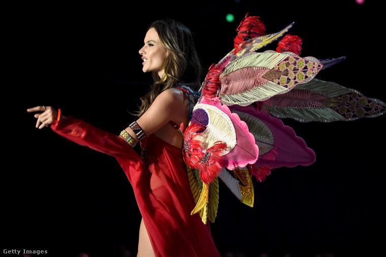 Alessandra Ambrosio, aki tizenhét év után most vonult utoljára, többször nem fog szereplni a bemutatón.