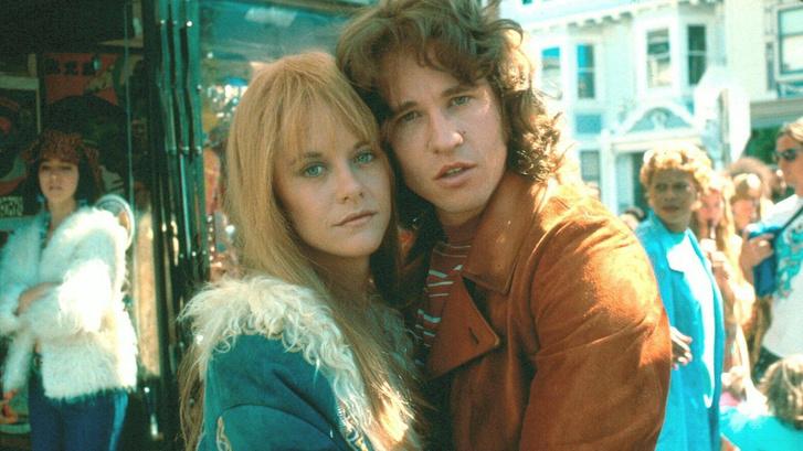 Meg Ryan és Val Kilmer a The Doors című filmben