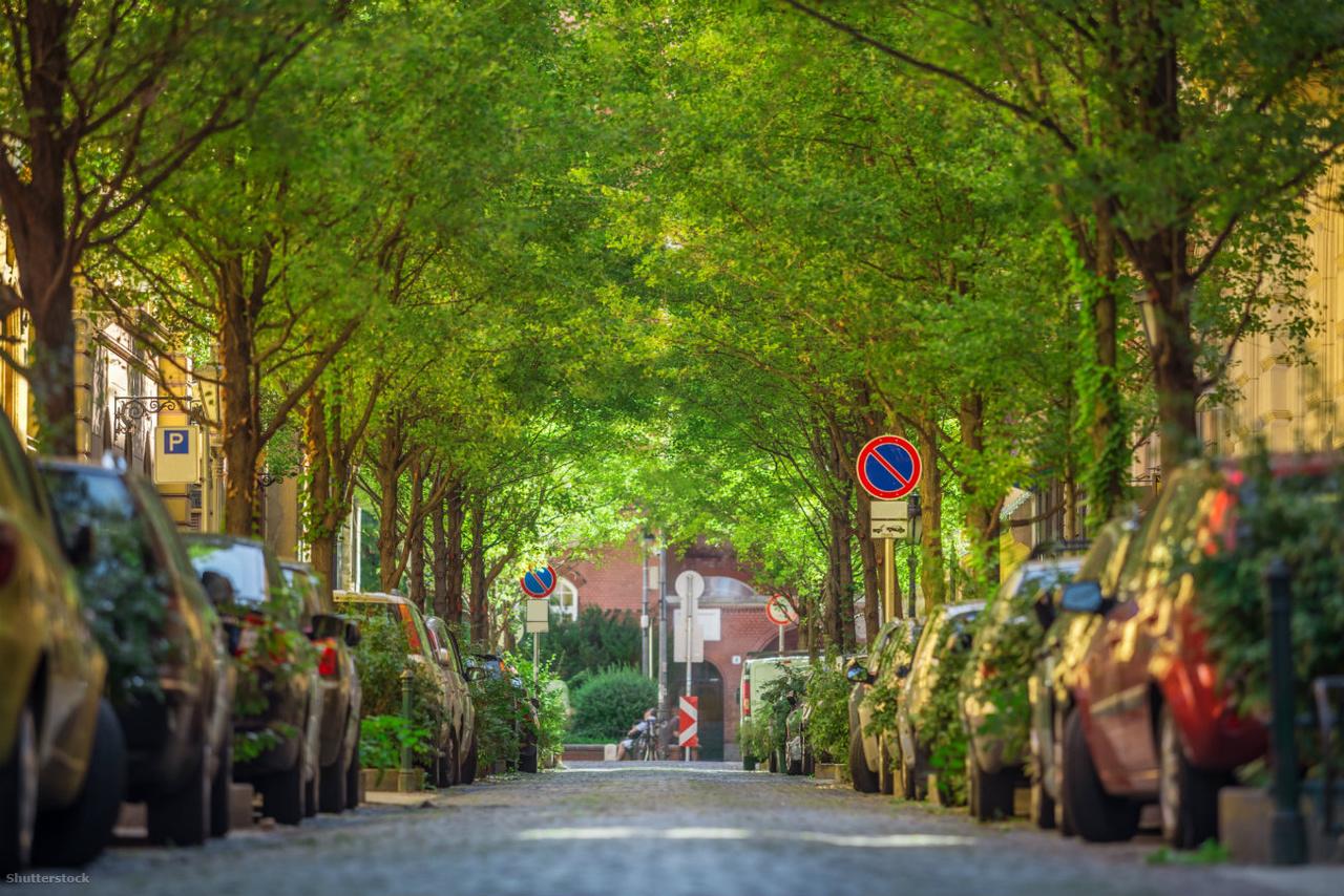 A hangulatos Reviczky utca