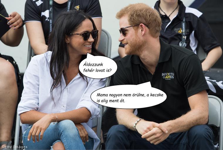 BoszorkányságA Star magazin nemrég arról írt, hogy Harry herceg és barátnője, Meghan Markle egy pogány rítus keretében, teliholdkor fogadtak egymásnak örök szerelmet