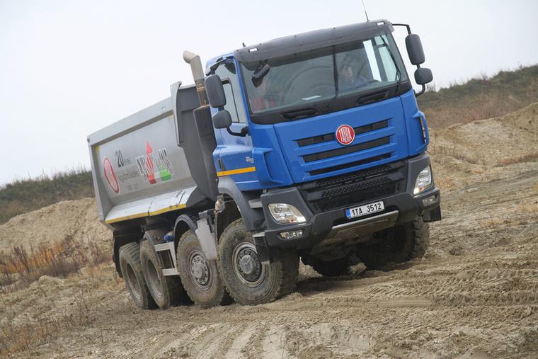 A Tatra 2012-ben mindössze ötszáz teherautót gyártott, kis híján csődbe is mentek