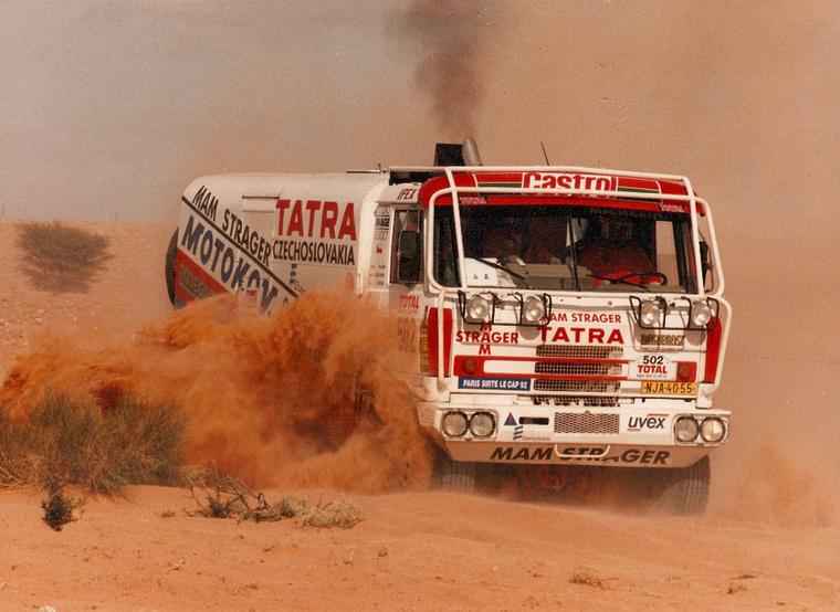 A Tatra hírnevéhez erősen hozzájárult Karel Loprais, vagyis Monsieur Dakar