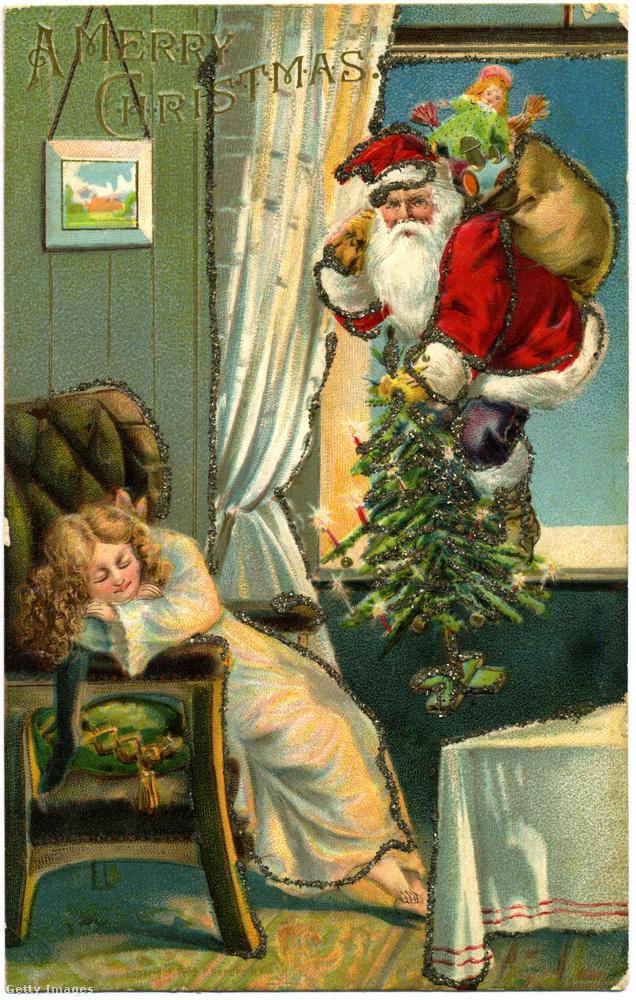 A jelek szerint arrafelé a karácsonyfát is ő viszi