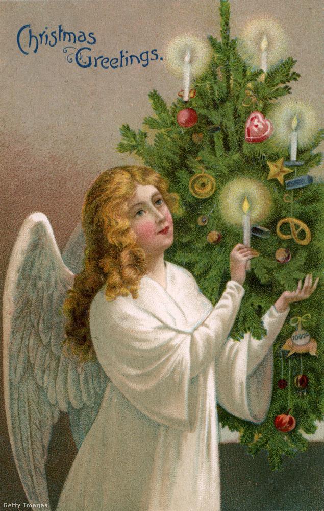 Ha megnézik, az előző képen látható kisgyereket nagyjából ugyanúgy ábrázolták, mint az angyalkát