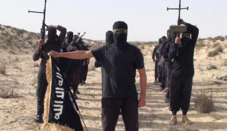 Az Iszlám Állam sínai harcosai