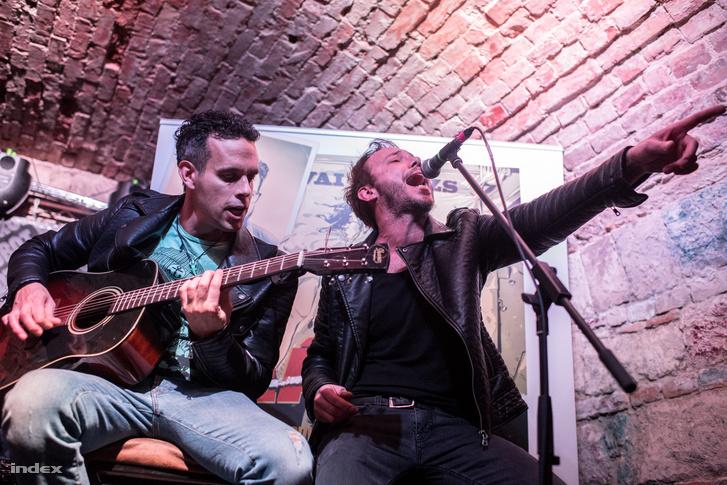 Az igazi rocksztár az első próbán meghal (Pulius Tibor és Papp Szabolcs)