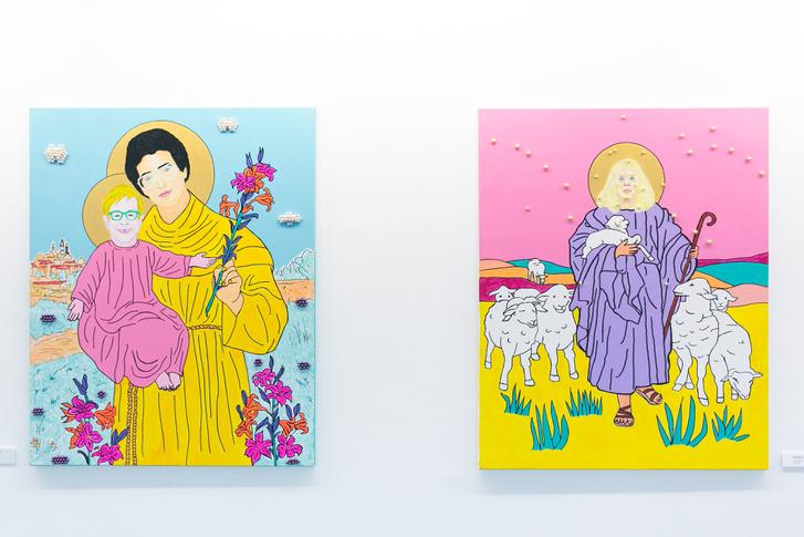Szent Máté Péter átadja a szeretet stafétabotját Szent Elton Johnnak, illetve A gyöngyhajú pásztor csillagképe