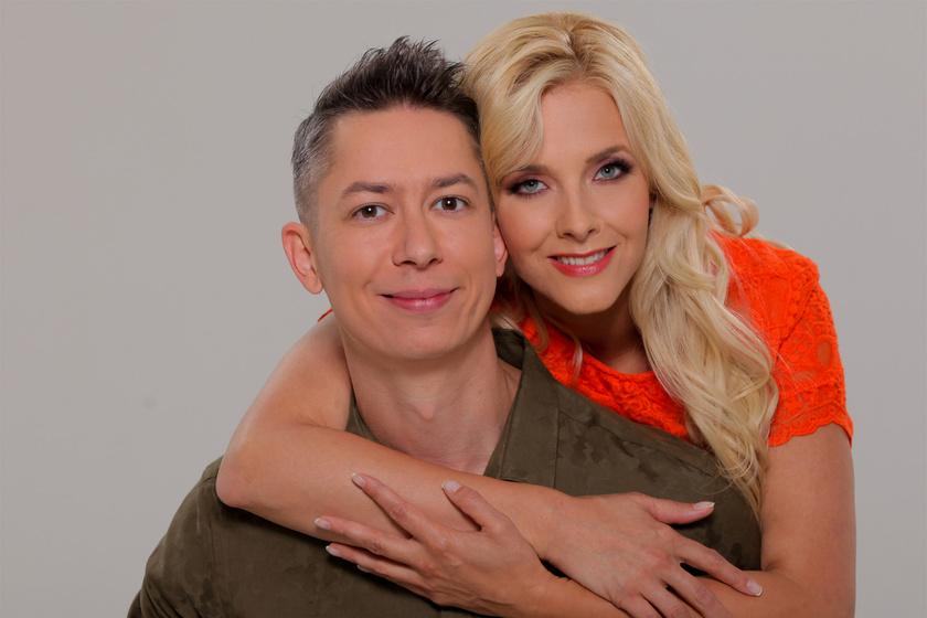 Peller Anna és Mikike a Nyerő Páros című sztárpáros vetélkedőben.