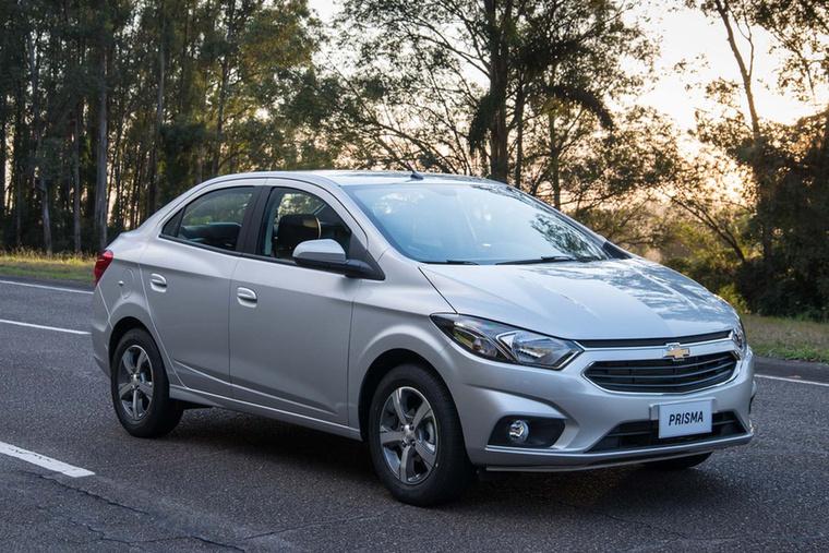 A Chevrolet több kis négyajtóst is kínál, a Prisma, vagy más néven Onyx ezek egyike