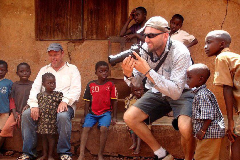 Sascha Tanzániában